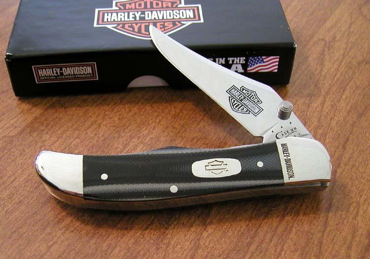 case harley davidson knives